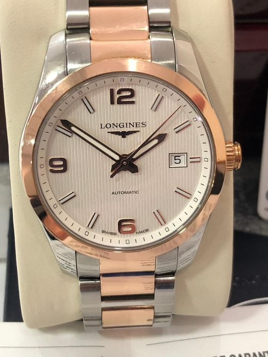 Longines - Conquest Classic 18K Gold/Steel - L2.785.5 - Heren - 2011-heden