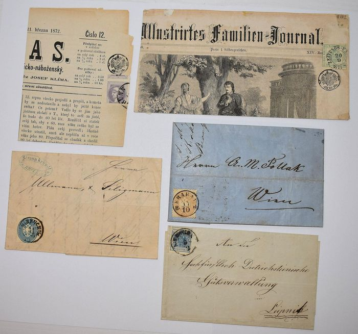 Lot 34061479 - Austrian & Swiss Stamps  -  Catawiki B.V. Weekly auction - Note the closing date of each lot