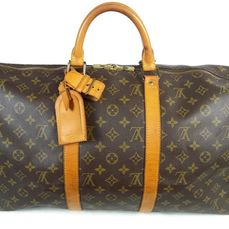 Louis Vuitton - Keepall 50 Luggage bag + LV Accessories *