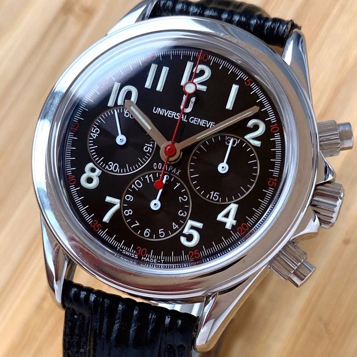 Universal Genève - N.O.S. Compax Chronograph Lemania 1873 - Ref. 8844 - Herren - 1990-1999