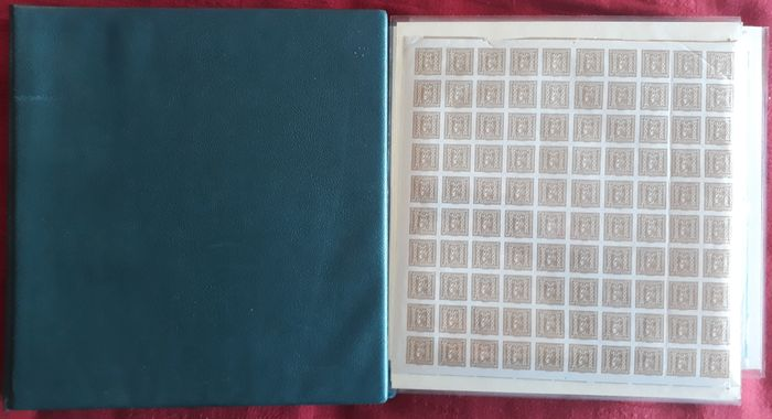 Austria 1915/1984 - Lot with sheets and sheet parts and collection