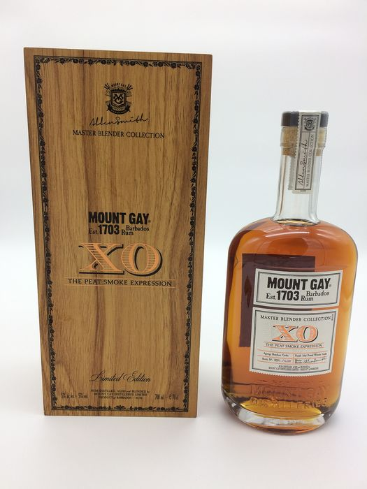 """Mount Gay - XO """"The Peat Smoke Expression"""" - 70cl"""