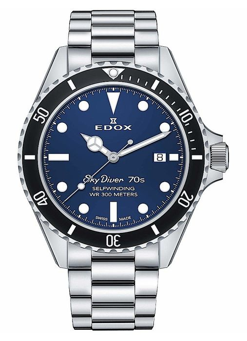 Edox - SkyDiver 70s - 80112 3NM BUI - Men - 2011-present