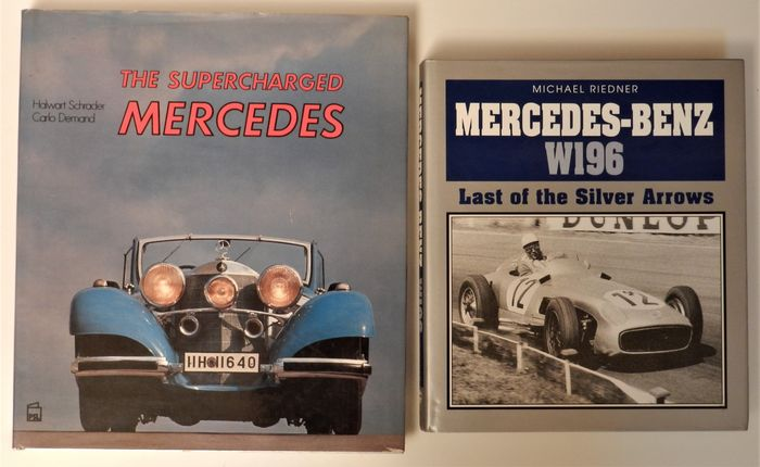Livres - The Supercharged Mercedes and Mercedes-Benz W196 - Mercedes-Benz
