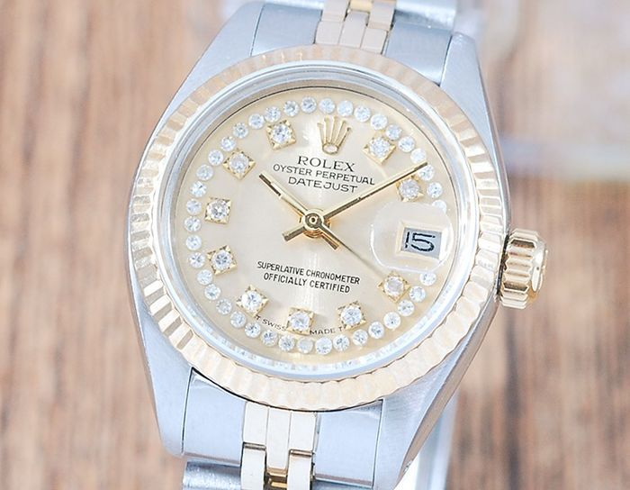 Rolex - Oyster Perpetual DateJust - 6917 - Femme - 1970-1979