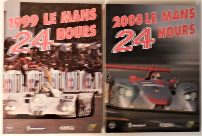 Boeken - 2 Volumes: 1999 and 2000 Le Mans 24 Hours