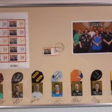 Darts - Darts Memorabilia PDC 2006 - Signatures + Flights + Stamps + Photographs