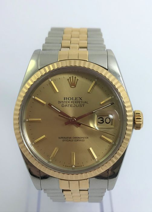Rolex - Oyster Perpetual Datejust - 16013 - 男士 - 1980-1989