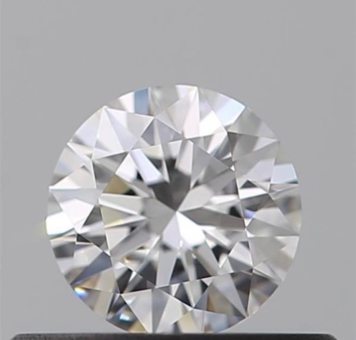 1 pcs Diamond - 0.55 ct - Brilliant - D (colourless) - IF (flawless)