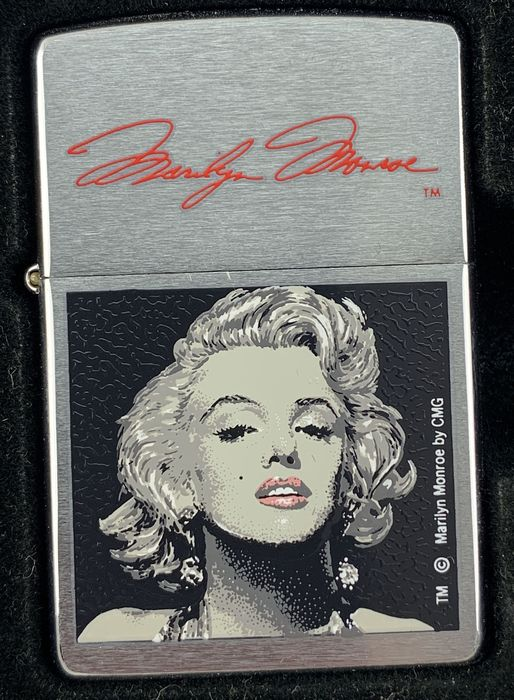 Zippo - Aansteker - LIMITED EDITION Marylin Monroe, Stars of Hollywood, Collector Item, Very Rare