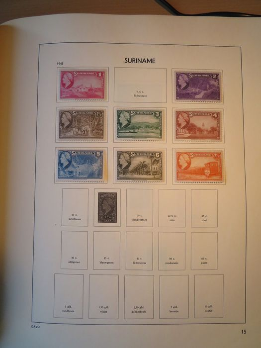 Lot 34437543 - International Stamps  -  Catawiki B.V. Weekly auction - Note the closing date of each lot