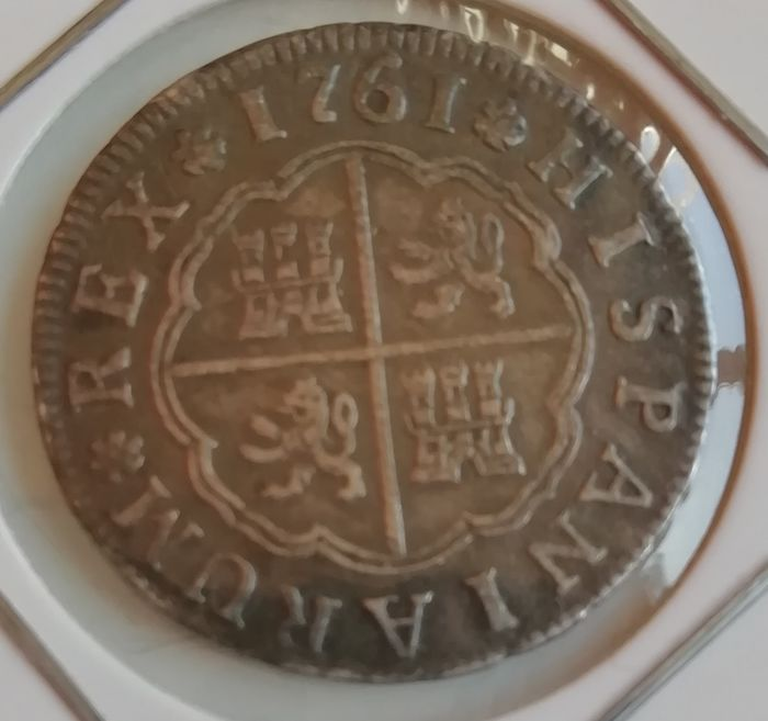 Espagne - 2 Real 1761 - Argent
