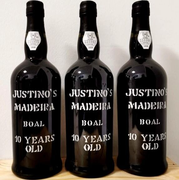 Justino's 10 years old Boal - Madeira - 3 Bottles (0.75L)
