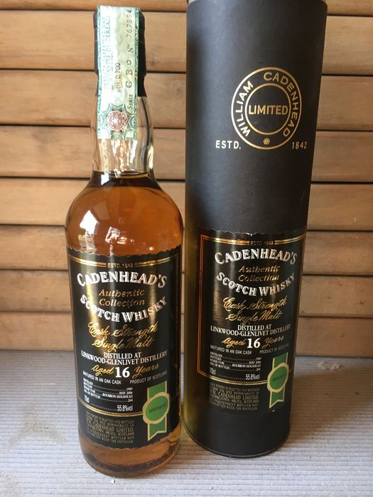 Linkwood 1989 16 years old Authentic Collection - Cadenhead's - 70cl