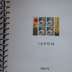 Japan 1965/1975 - Collection of stamps from Japan, in Edifil album - Edifil