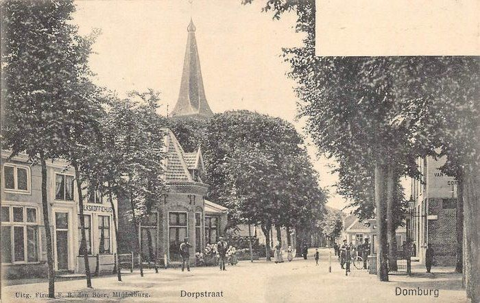 Pays-Bas - Domburg (Zélande) - Cartes postales (Collection de 44) - 1902