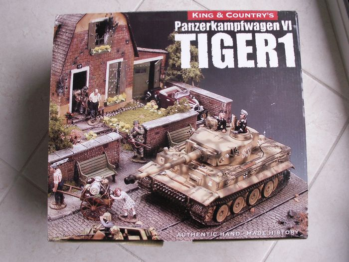King & Country - WW2 Wehrmacht - WS151 - panzer char tank panzer tiger char tigre - 1940-1949 - China