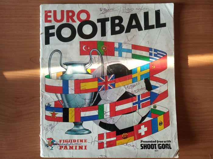 Panini - Álbum completo Euro Football 1976/77
