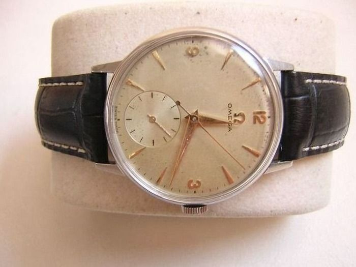 Omega - Vintage Double Second Dress Watch - 2348/4 - Heren - 1950-1959