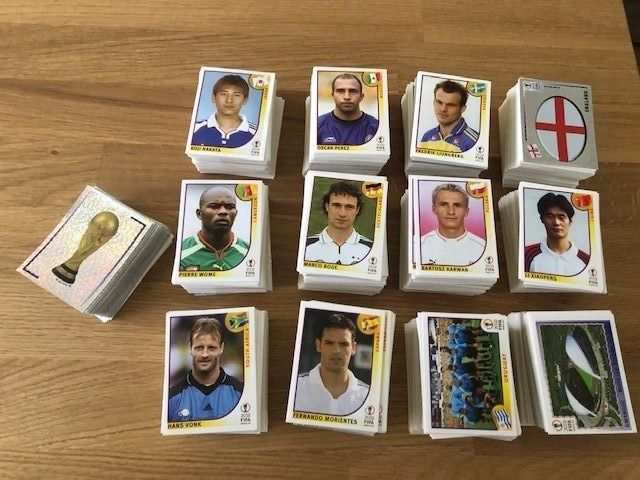 Panini - World Cup Korea/Japan 2002 - Ongeveer 2450 stickers (!) incl. diverse logo's