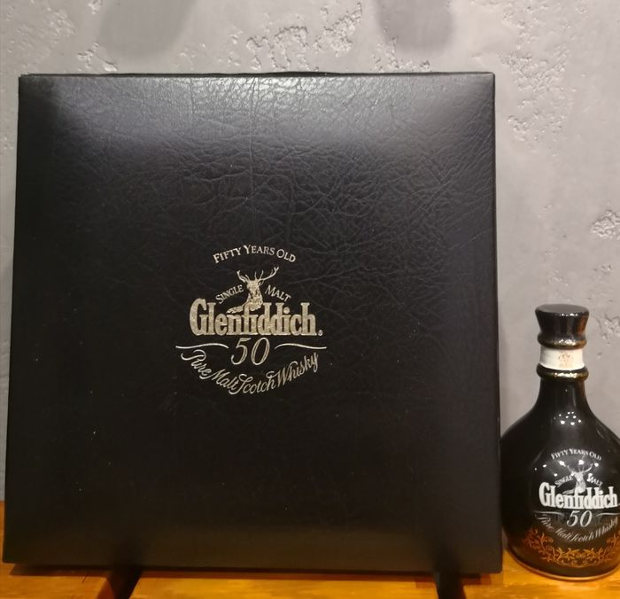 Glenfiddich 50 years old - Original bottling - 5cl