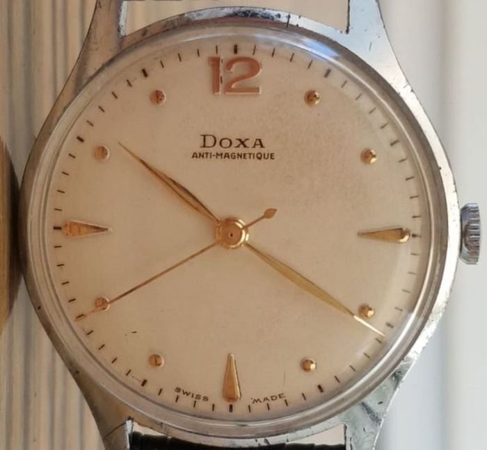 Doxa - 1950 Central second hand - Homme - 1950-1959