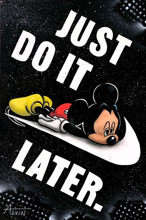 Alvin Silvrants - Disney Mickey Mouse does it later