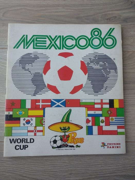 Panini - Komplettes Album World Cup Mexico 86