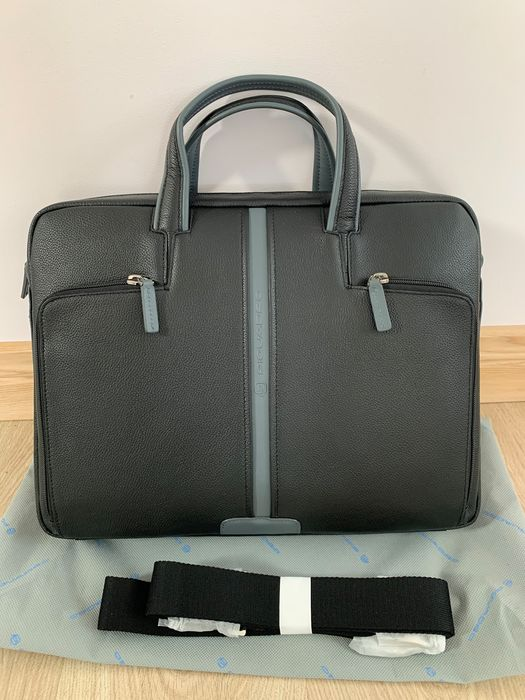 Piquadro - NEW - Leather - NO RESERVE PRICE - Briefcase