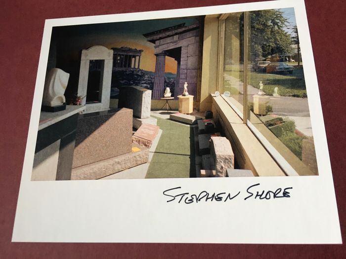 Signed; Stephen Shore - Transparencies. Small Camera Works 1971-1979 - 2020