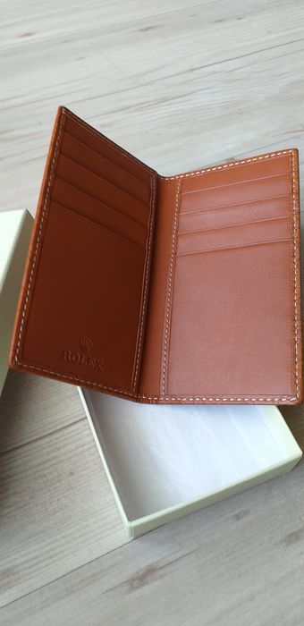Rolex - Brown Leather card holder - Unisexe - 2019