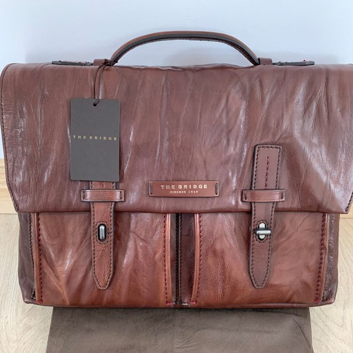 The Bridge - NEW - NO RESERVE PRICE - Leather - Bag