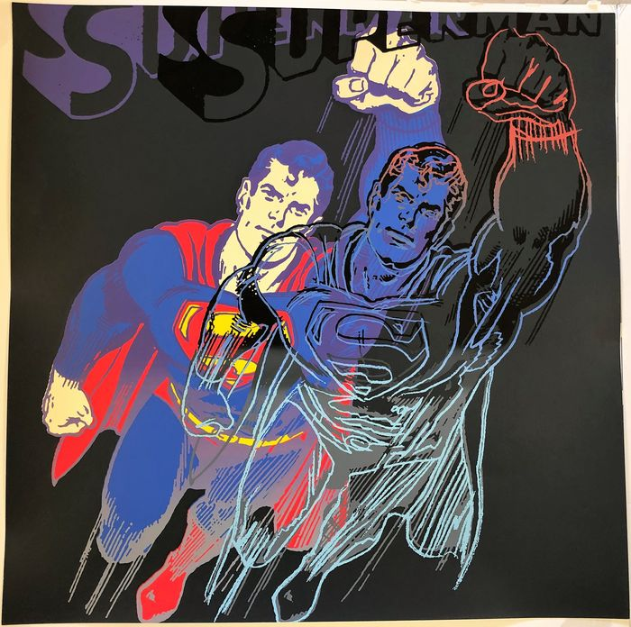 "Andy Warhol - from: Myths ""Superman"""