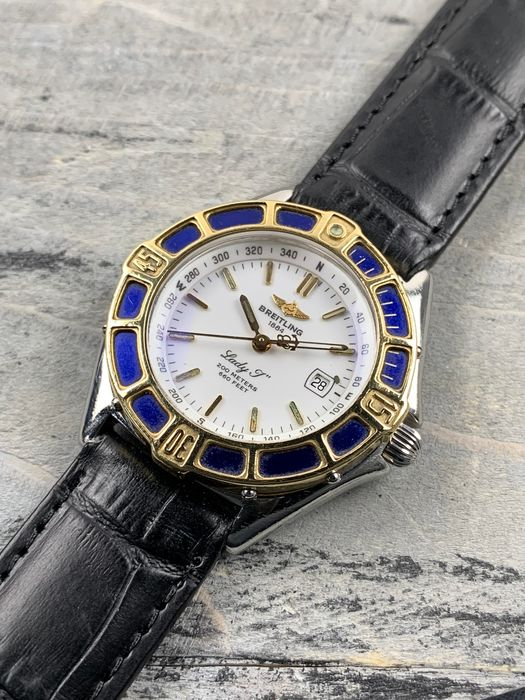 Breitling - J-Class Lady 18K Gold/Steel - D52065 - Donna - 1990-1999