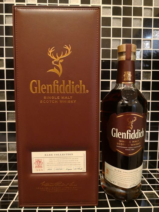 Glenfiddich 1985 30 years old Rare Collection Sherry - bottle no. 32 of 120 - Original bottling - 700 ml