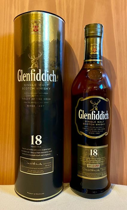 Glenfiddich 18 years old Batch 3197 - Original bottling - b. Años 2000 hasta la actualidad - 70 cl