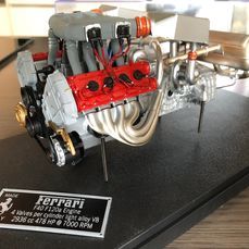 Élément décoratif - Ferrari F40 Scale Model Engine 1:8 Limited 1 of!! - Ferrari - 1980-1990