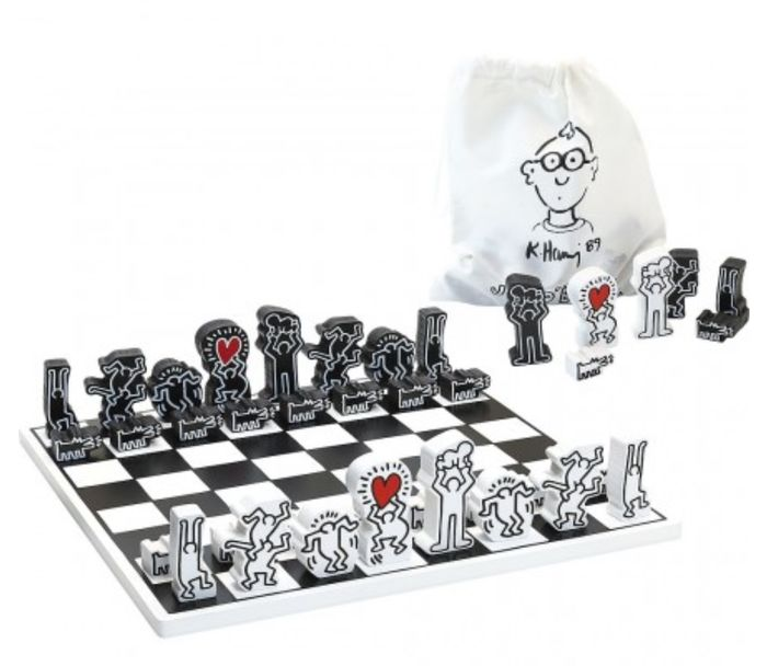 Keith haring - Chess game