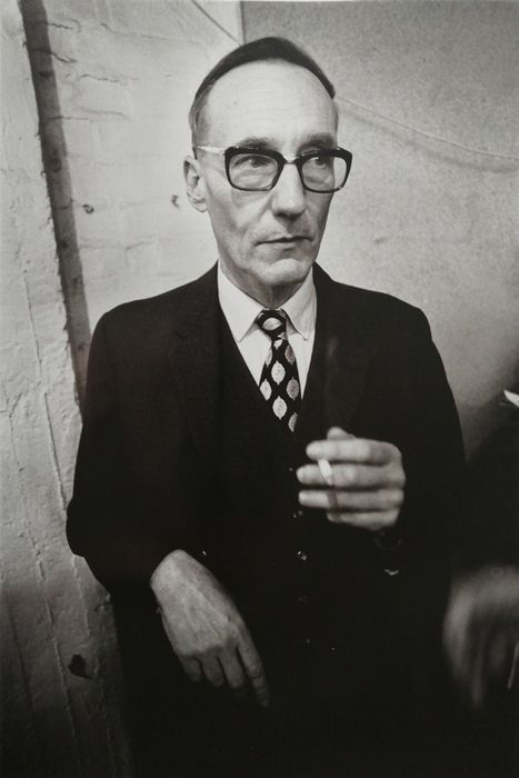 Gijsbert Hanekroot (1945) - William Burroughs, London, 1970