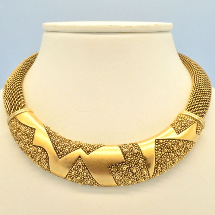 Monet Verouderde Goldtone - Collier