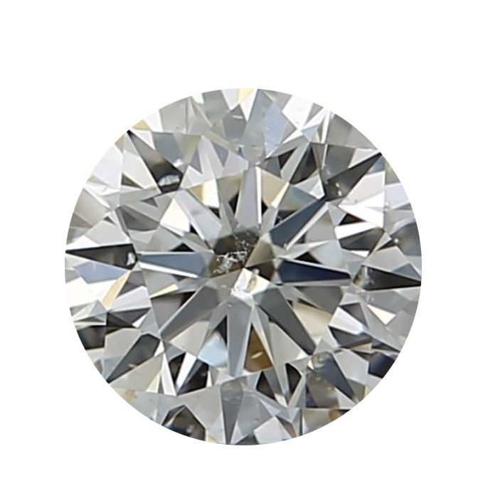 1 pcs Diamond - 0.71 ct - Round - I - SI2