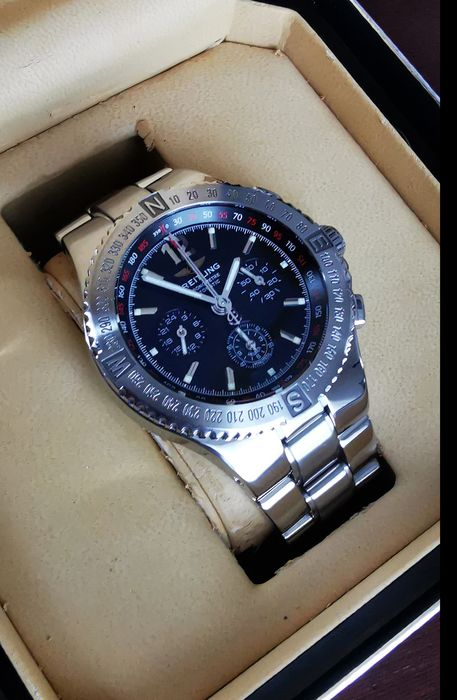 Breitling - Hercules Chronograph - Ref. A39362 - Heren - 2000-2010