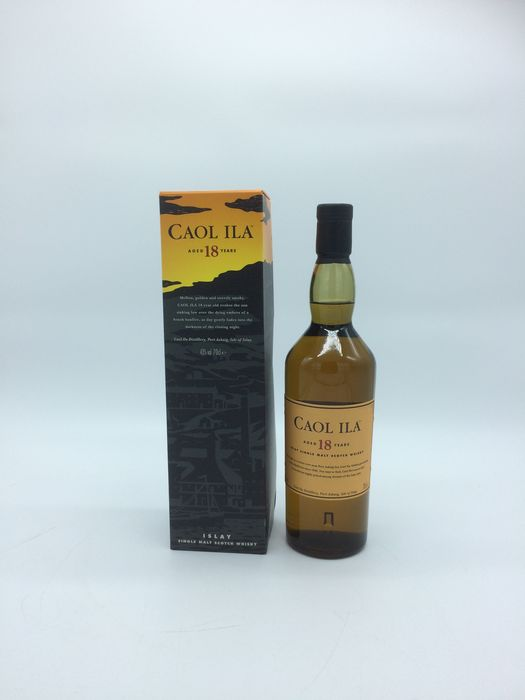 Caol Ila 18 years old - Original bottling - 70cl