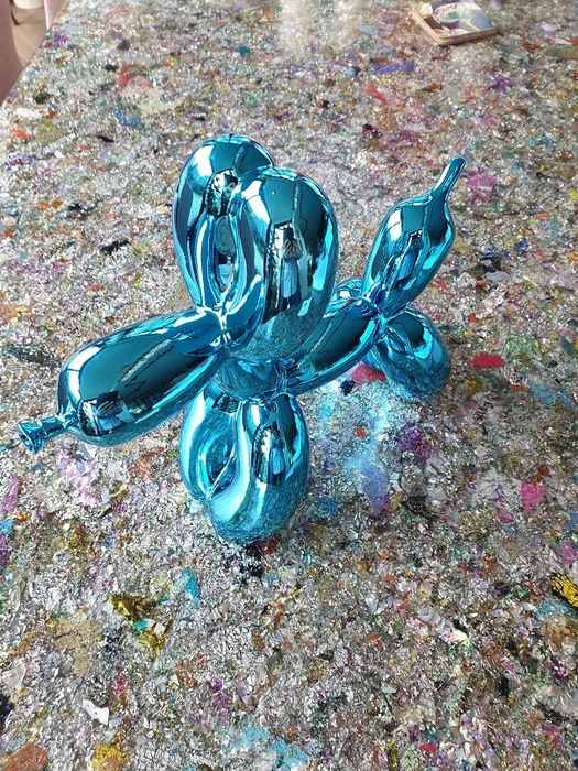 Jeff Koons (after) - Balloon Dog Blue