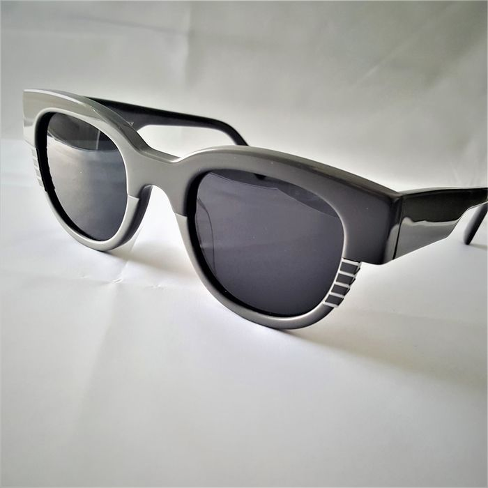 ill.i Optics by Will.i.am - Round Square Grey Silver - 2020 - Made in Italy - New Sunglasses