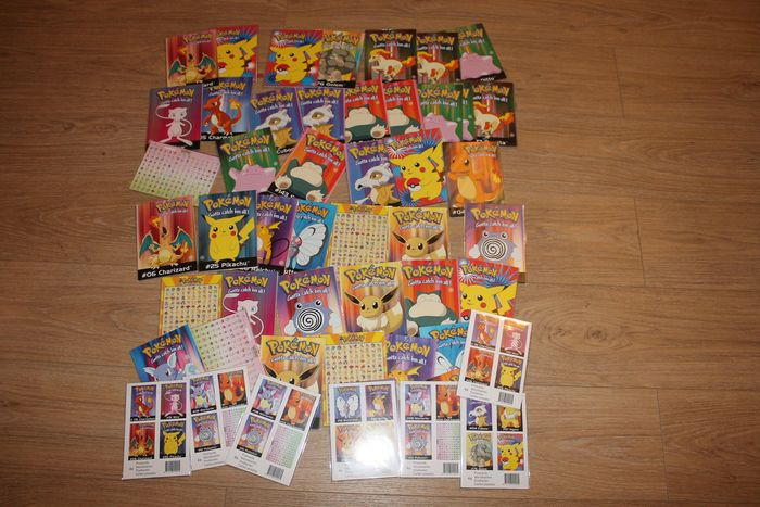 Nintendo pokemon post cards  brand new (old stock) year 2000 editions - Promotional material (2000) - In original sealed box