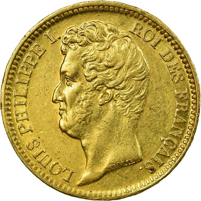 France - 20 Francs 1831-W Louis Philippe I - Or