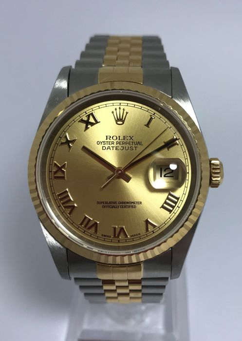 Rolex - Oyster Perpetual Datejust - 16233 - Uomo - 2000-2010
