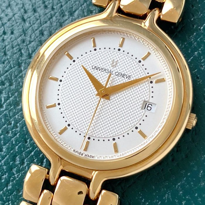 Universal Genève - N.O.S. Gold Plated 18k  - Homme - 1990-1999