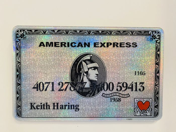 Van Apple - Amex - Keith Haring